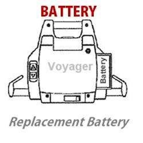 Voyager Ceiling Lift Battery Factory Replacement Battery Model: 98850