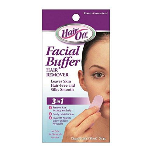 HairOff Facial Buffer 3 Each (Pack of 3)