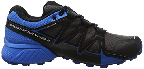 Indigo Bunting Magnet Shoes Black Trail Magnet 2 GTX Salomon Speedcross Men's Black Bunting Grey Running Vario Indigo 6nZTO