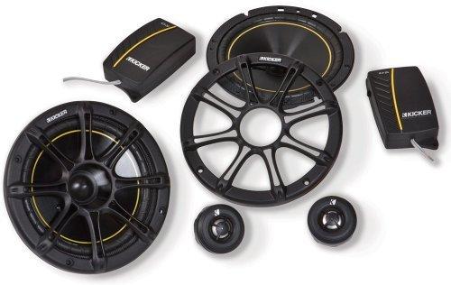 """2 Kicker DS62 6"""" 240 Watt 2-Way Component Speakers 11DS62 4-"""