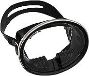Cressi Pacifico Rubber Mask, Black
