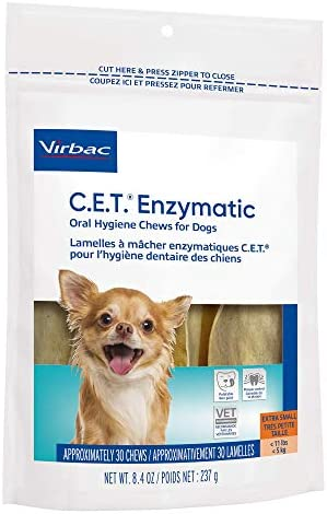 41UMzapmq9L. AC - Virbac CET Enzymatic Oral Hygiene Chews For Dogs