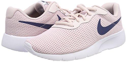 Nike Girl's Tanjun Shoe Barely Rose/Navy/White Size 3.5 M US by Nike (Image #5)