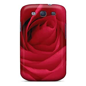 For Galaxy S3 Protector Case Blooming Rose For Luiza Dreamer Girl Phone Cover