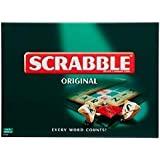 Scrabble Board Game for Family (ALW), card game for children adults English Scrabble Board Game and Travel puzzle for Building Words