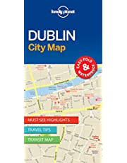 Lonely Planet Dublin City Map 1 1st Ed.