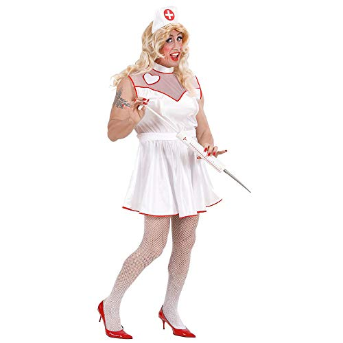 Nurse For Men - Drag Queens - Adult Fancy Dress Costume - -