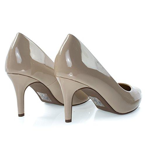 Comfort Foam Padded Womens Pointed Toe High Heel Classic Dress Pump Dkbeigept DaLyd