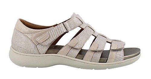 Aravon Women's Bromly Gladiator Sandal, Taupe, 8 B US