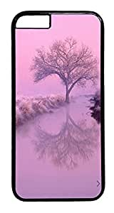 ACESR Frozen Trees iPhone 6 Hard Case PC - Black, Back Cover Case for Apple iPhone 6(4.7 inch)