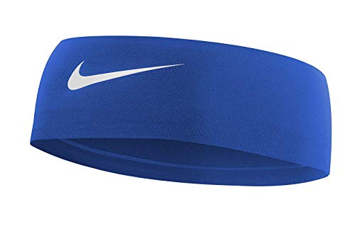 Nike Womens Dri Fit Game - Nike Fury Headband 2.0 (Game Royal/White)