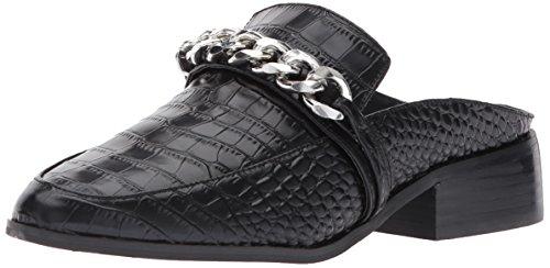 - STEVEN by Steve Madden Women's Swanki Slip-On Loafer, Black Crocodile, 7.5 M US