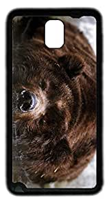 Bear Bathing Masterpiece Limited Custom TPU Black Case for Samsung Galaxy Note 3 N9000 by Cases & Mousepads