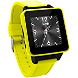 BURG Neon 16A Smartwatch Phone with SIM Card for iOS and Android - Yellow
