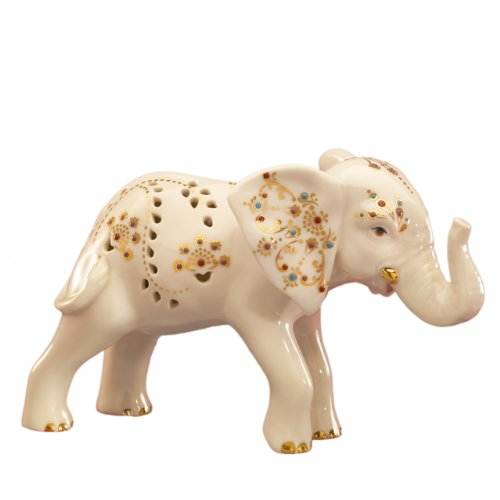 Lenox Jewels of Light Elephant Figurine