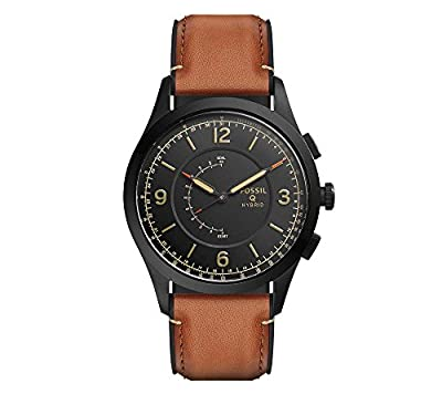 Fossil Hybrid Smart Watch - Q Activist Leather by Fossil