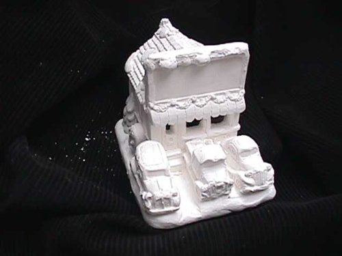 (House plastercraft no fire use acrylic paints Vic's car lot 4