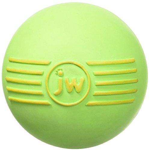 JW Pet iSqueak Rubber Ball Dog Toy, Medium, Assorted