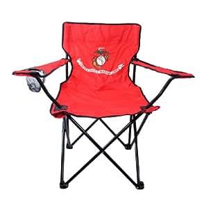 Amazon Com U S Marine Corps Folding Camping Chair Usmc