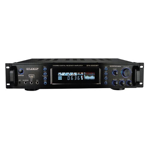 Nippon SPA3000BT Studio Z Hybrid Pro Amplifier With Tuner Usb And Bluetooth
