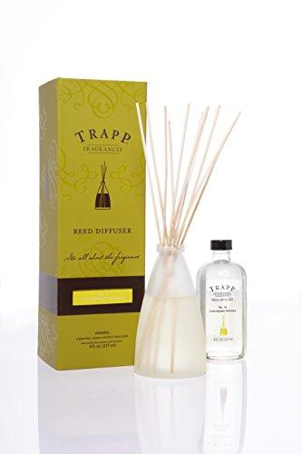 Trapp - No. 10 Lemongrass Verbena 8oz. Reed Diffuser Kit