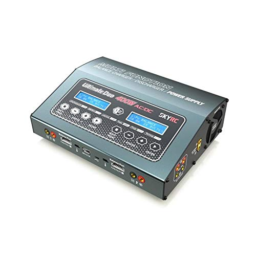 - SKYRC SK-100123-03 Ultimate Duo 400W AC/DC Balance Charger Power Supply
