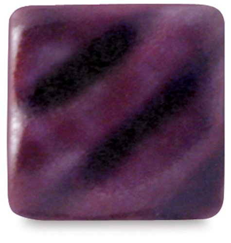 Amaco Opalescent Glaze - Pint - O-57 Mottled Burgundy