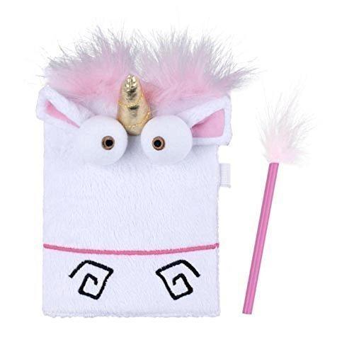 Universal Studios Despicable Me Plush Unicorn Childs Diary (Child Universal Studios)