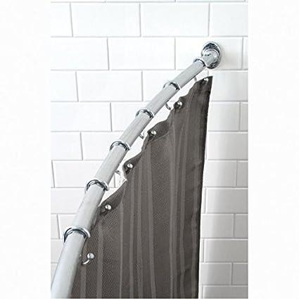 Splash Adjustable Curved Shower Curtain Rod Amazonca Home Kitchen