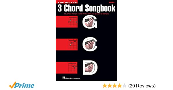 Amazon.com: The Guitar Three-Chord Songbook: Play 50 Rock Hits with ...