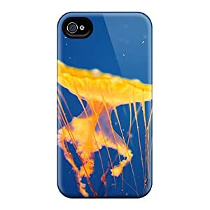 Faddish Phone Jelly Fish Case For Iphone 4/4s / Perfect Case Cover by runtopwell