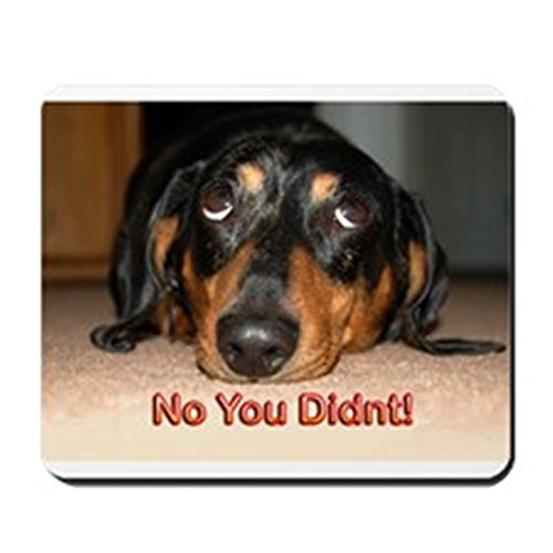 CafePress - No You Didn't Mousepad - Non-slip Rubber Mousepad, Gaming Mouse Pad