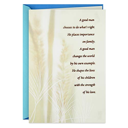 Hallmark Fathers Day Card for Dad (Good Man)