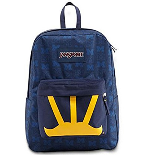 Jansport University of Michigan ''Wings'' Superbreak Backpack (U of M)