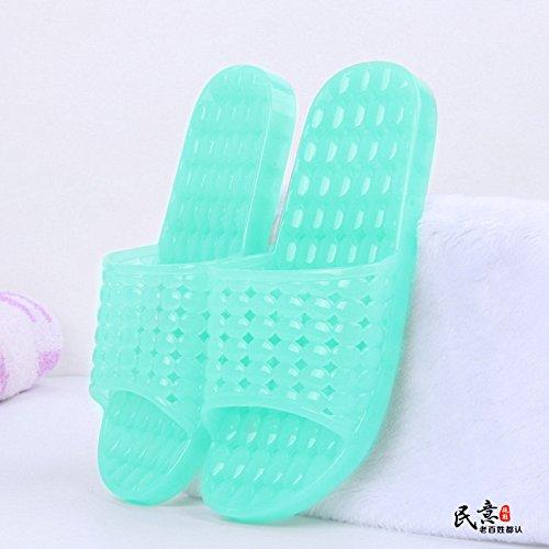 dei scarpe Colore estate amanti YMFIE piscina hollow gli trasparente out bagno sandali pantofole B antiskid OvqvdnW7