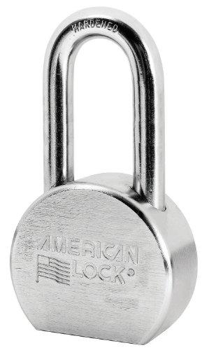 Series Solid Steel Padlock - American Lock A701D Steel Padlock, 2-1/2