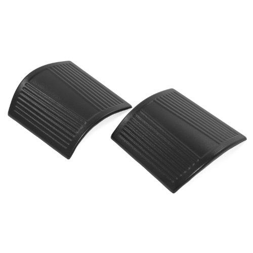Rugged Ridge 11651.18 Durable Black Plastic Cowl Body Armor - Pair