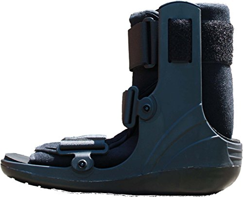 Alpha Medical Mid Calf Cam Walker Fracture Boot Ankle Walking Boot L4386 ()