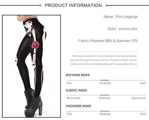 Legging Go Sportiva Black Sexy Misteriosi Stampato Scheletro Donna Design Easy Per Yoga Leggins Leggings 3d Collant Osseo Pantalone Nuovo Shopping axwBWdgq1