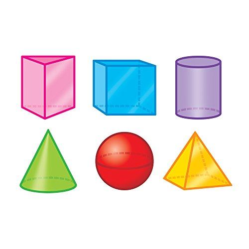 - Trend Enterprises Inc. 3-D Shapes Mini Accents Variety Pack, 36 ct