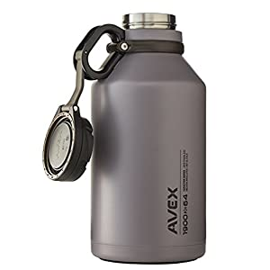 AVEX Growler, Gray, 1900ml/64 oz