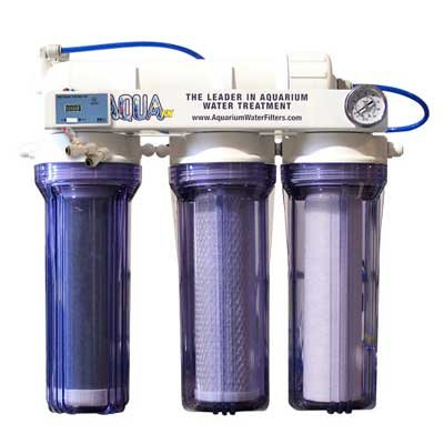 AquaFX Barracuda RO/DI Aquarium Filter, 50 GPD Aquarium Reverse Osmosis System