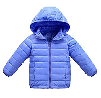 Amazon.com: Ruhua Baby Grils Boys Hooded Toddler Winter
