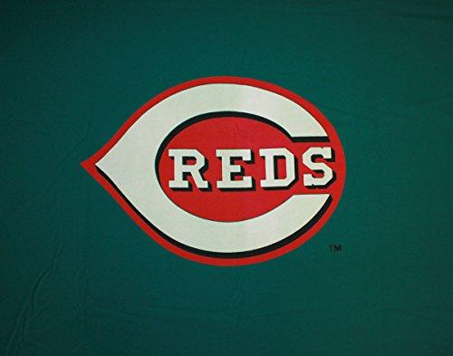 Imperial MLB Cincinnati Reds 8-Foot Wool/Nylon Billiards/Pool Table Cloth/Felt