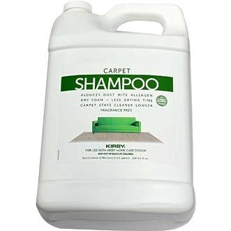 Genuine Kirby Allergen Reduction Shampoo One Gallon, Unscented