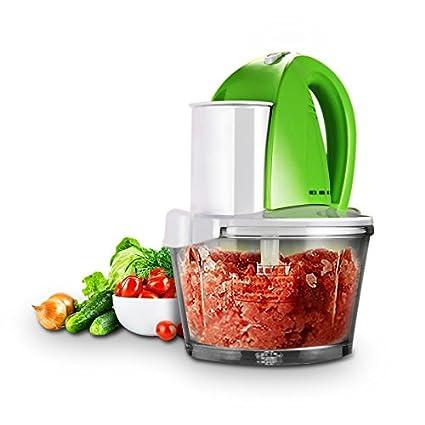 Rubility®1.8L de múltiples funciones del hogar máquina de picar carne eléctrica Exprimidor eléctrico