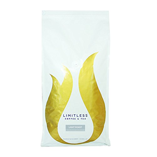Limitless Coffee Air Roasted Ground Coffee, Light Roast, 5 Pound