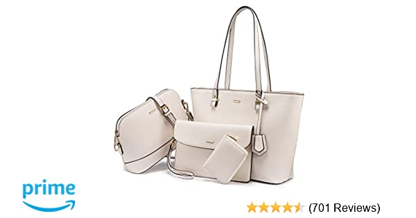 874ed885c8d Handbags for Women Shoulder Bags Tote Satchel Hobo 3pcs Purse Set
