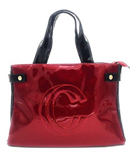 con de mujer Rojo bolso logotipo Gallantry wpA1t