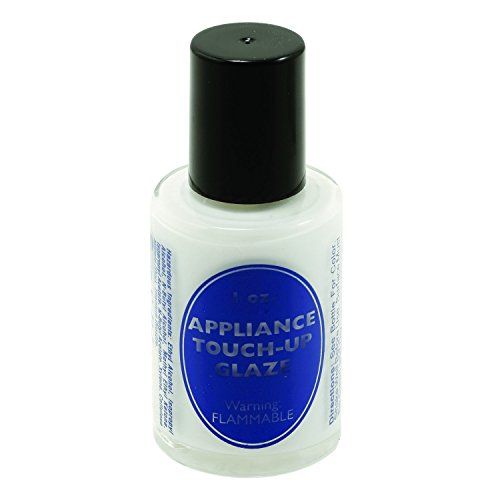 White Lacquer Paint - Prime-Line MP10511 Appliance Touch-Up Paint, 1 oz. Bottle, Lacquer Base, White, Gloss, w/Brush, Pack of 1